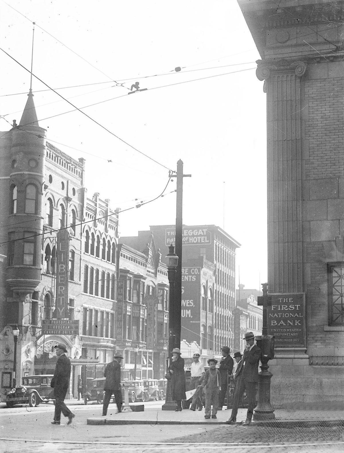 Corner of Main and Broadway