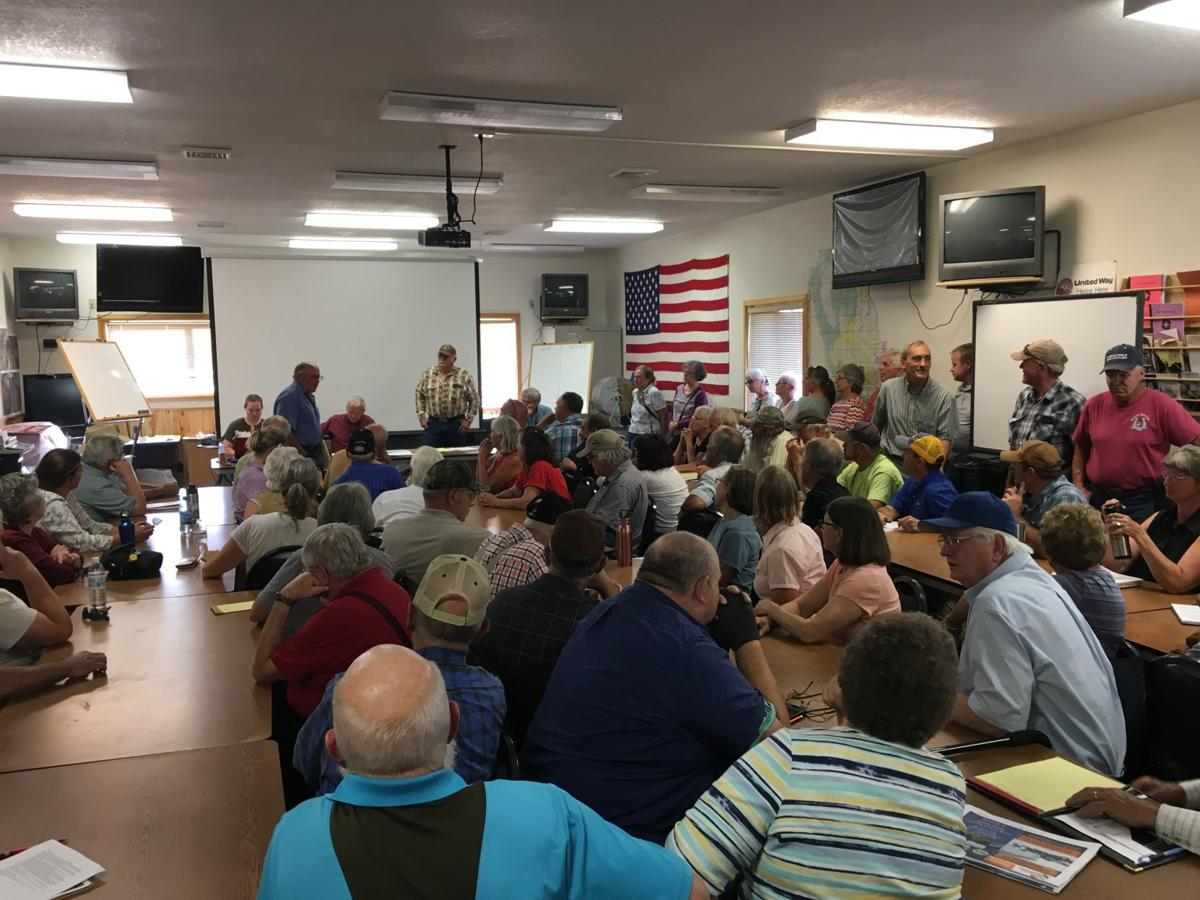 Beaverhead County Commission public meeting on WSAs