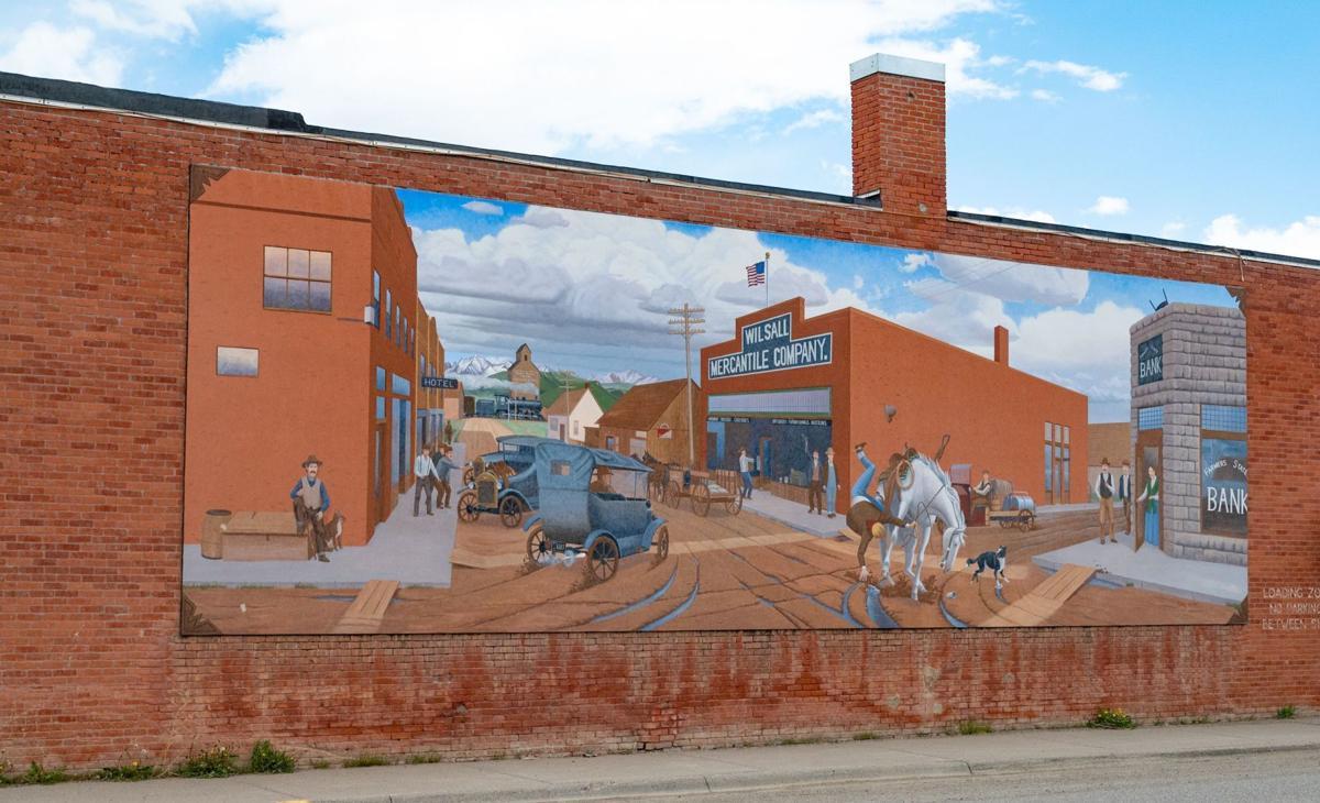 Wilsall Mural