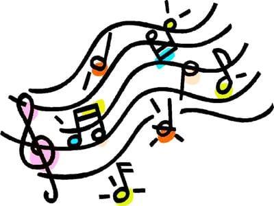 Musical notes artwork 2