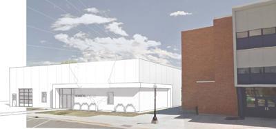 Artist's concept of Roosevelt Technology Center