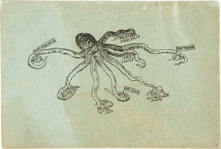 Helena the octopus