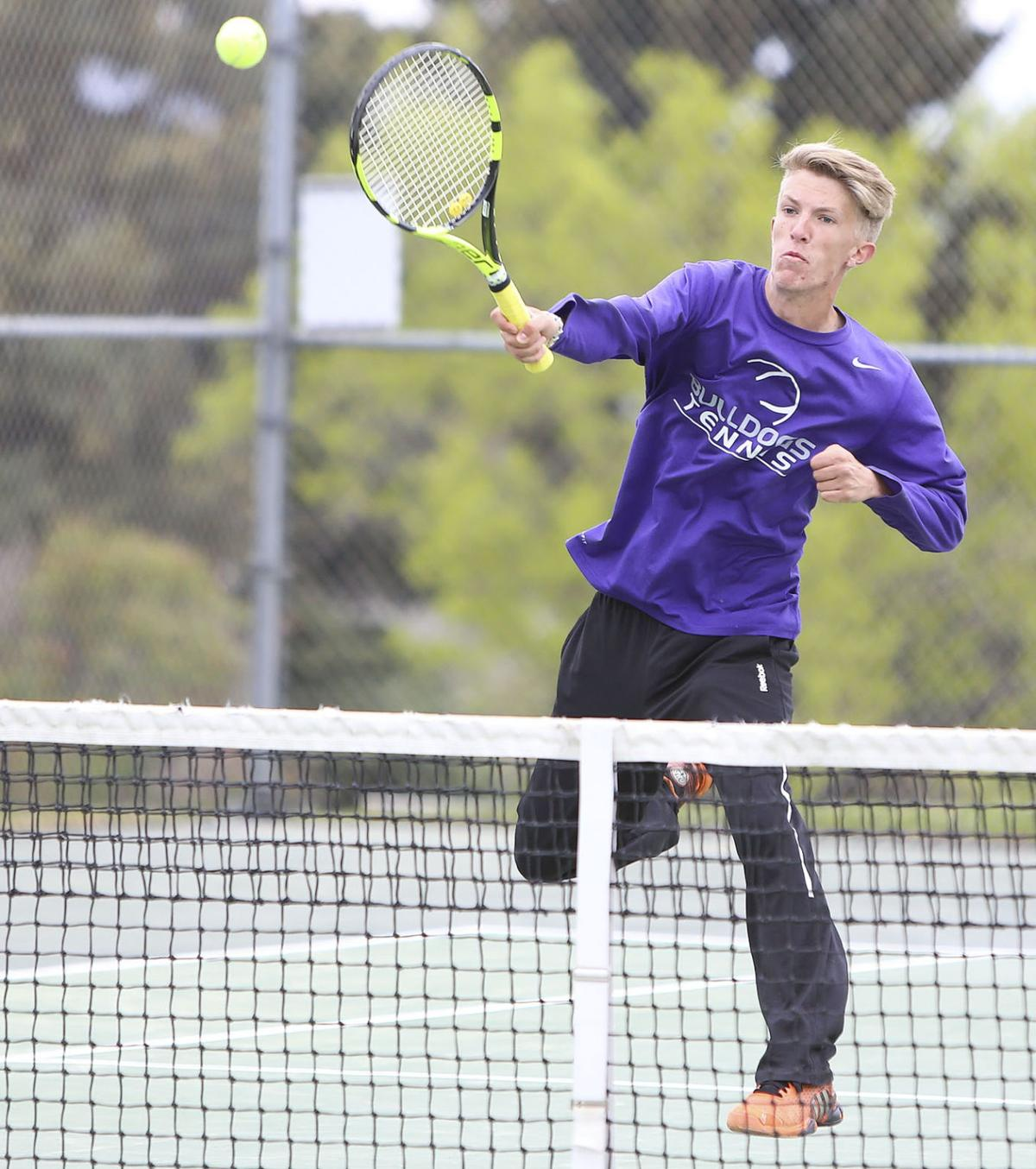 Butte High's Amtmann Takes 2nd At Divisional Tennis