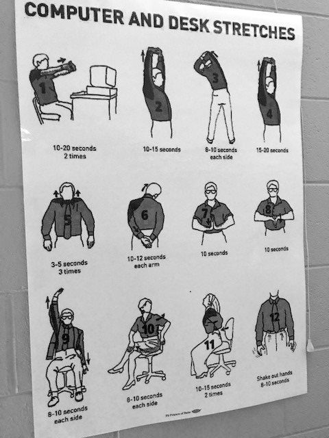 Poster of stretches