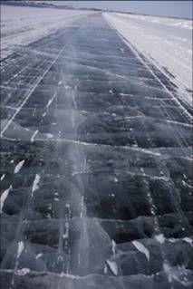 black ice image