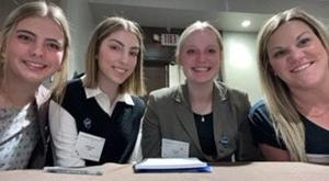 Three Butte High seniors wow judges at shark tank competition