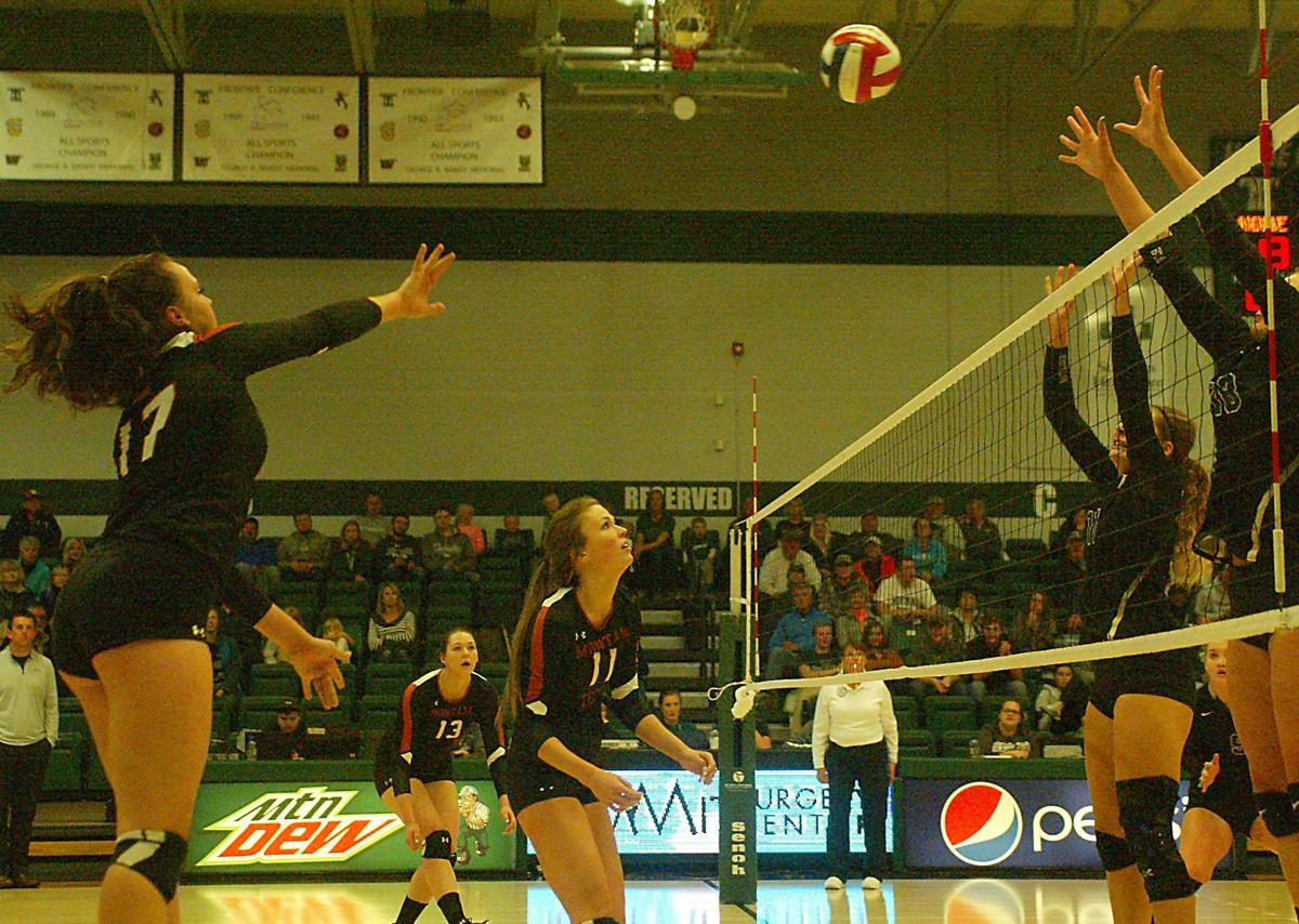 RMC at Montana Tech volleyball