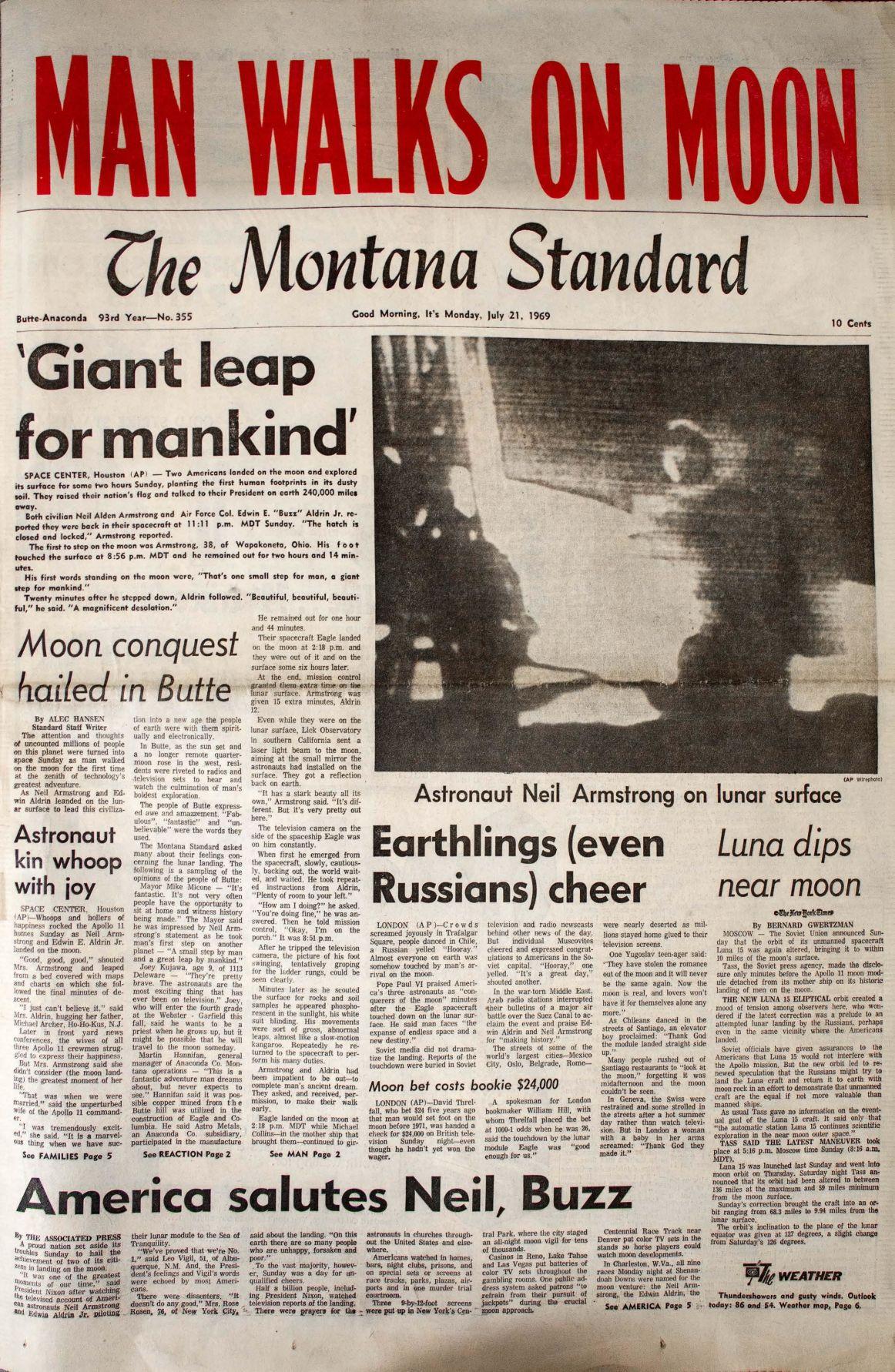 50th Anniversary Man Walks On Moon