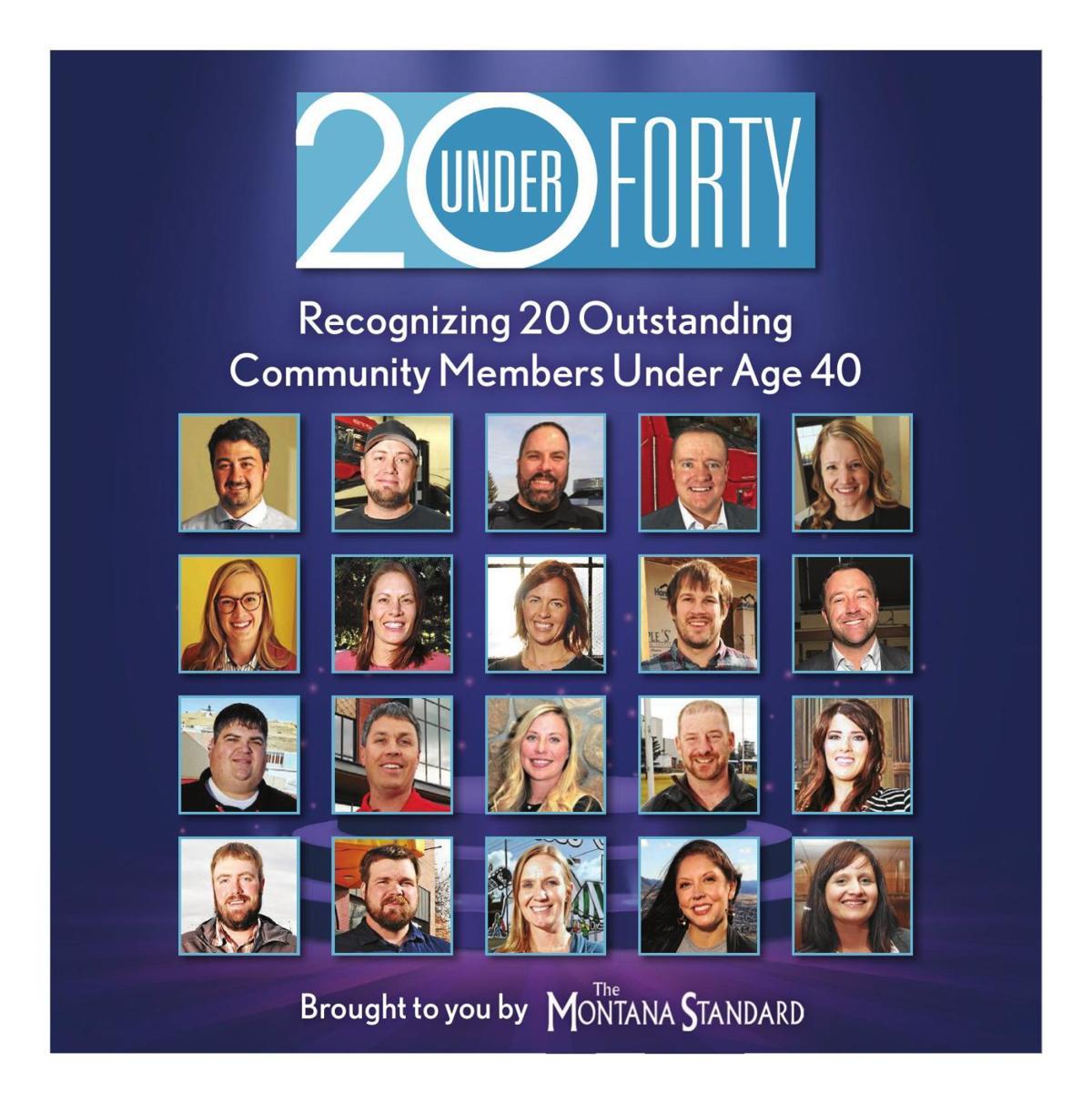 20 Under 40 2019