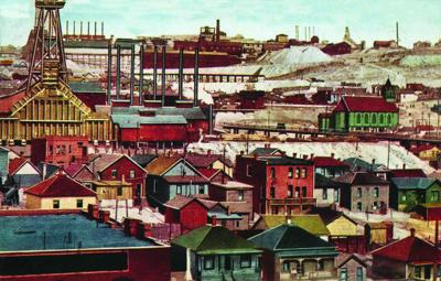 Postcards from Butte: 100 years ago     Miners blow up Union