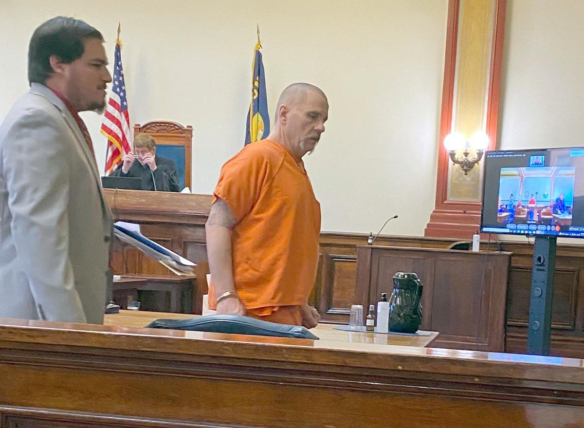 Richard Wayne Sparks in court