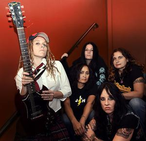 AC/DC tribute band Hell's Belles to play at the Old Montana Prison in Deer Lodge