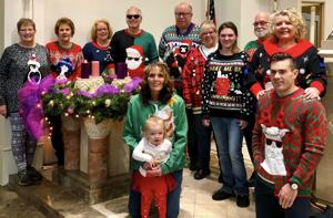 Wear an ugly Christmas sweater to Mass