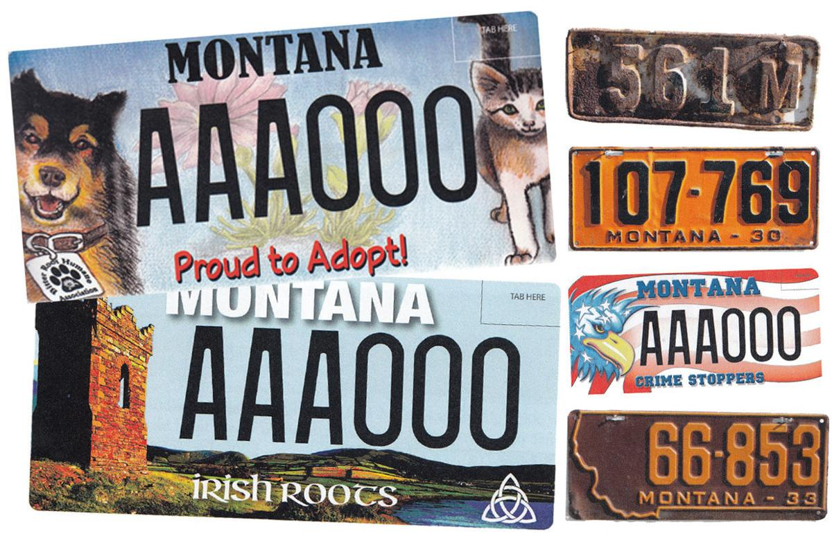 Photos from Ken Fitzgerald's 'Montana License Plates'