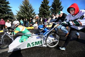'Safety first:' Occupational safety students win Tech's annual bed race