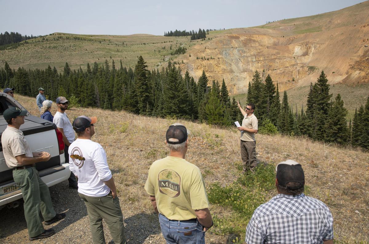 Beal Mountain Mine tour
