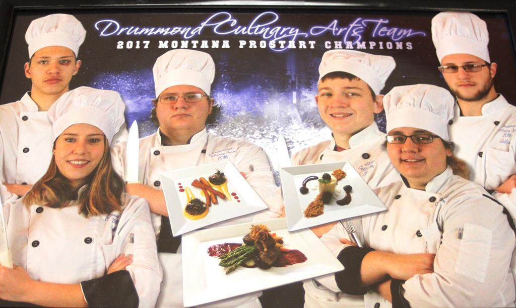 Drummond Culinary Arts Team
