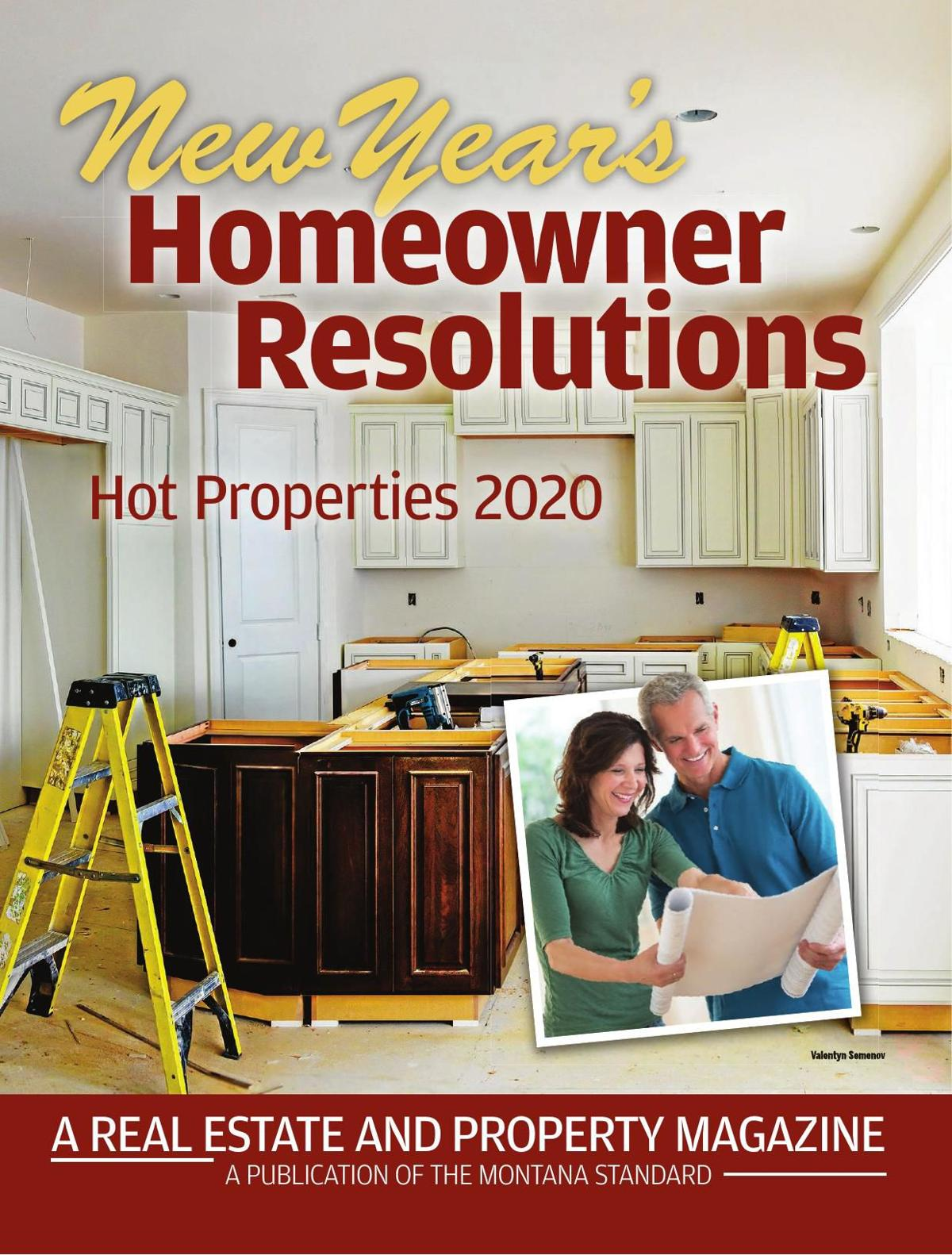 New Year's Homeowner Resolutions