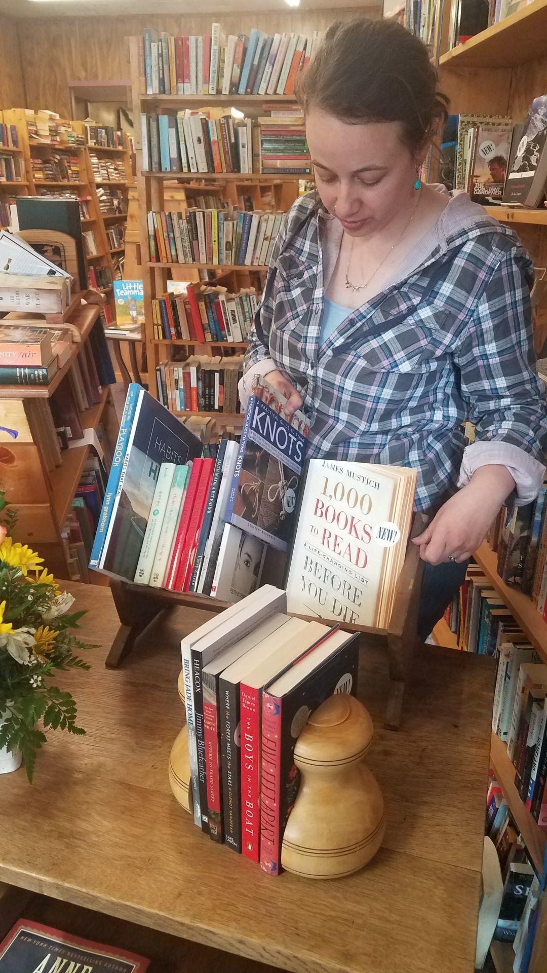 Browsing Bison books