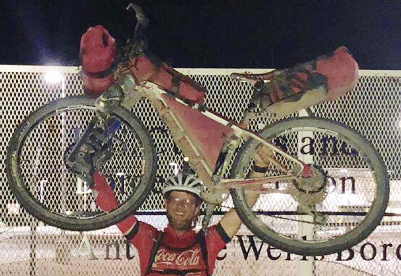 """John """"Bear"""" Stillwagon places 9th in Tour Divide race from Canada to the U.S. - Mexico border"""