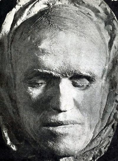 Frank Little Death mask