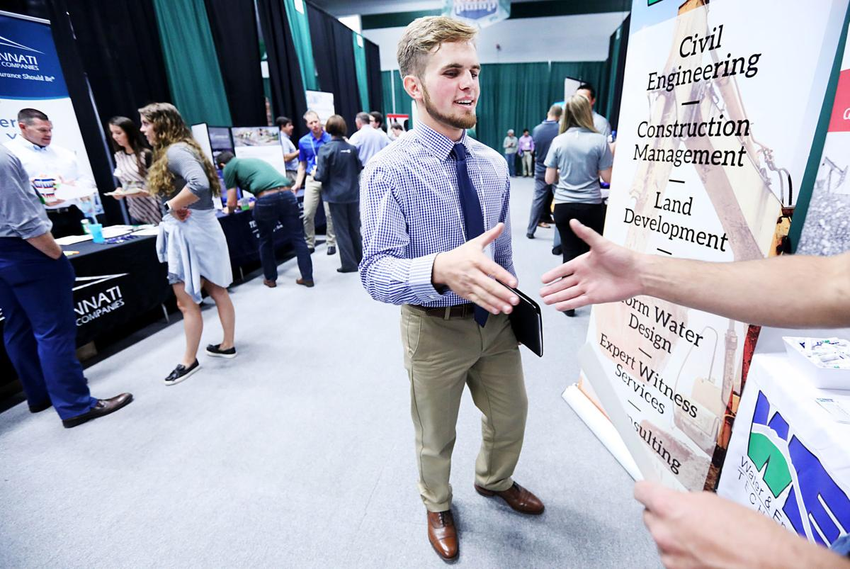 Career fair brings students and companies together