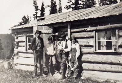Perrin's cabin