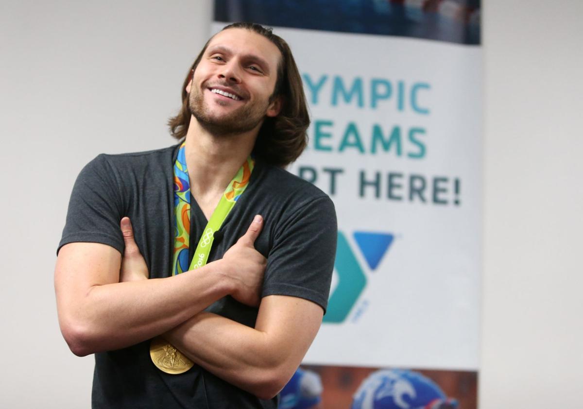 Olympic gold medal swimmer Cody Miller
