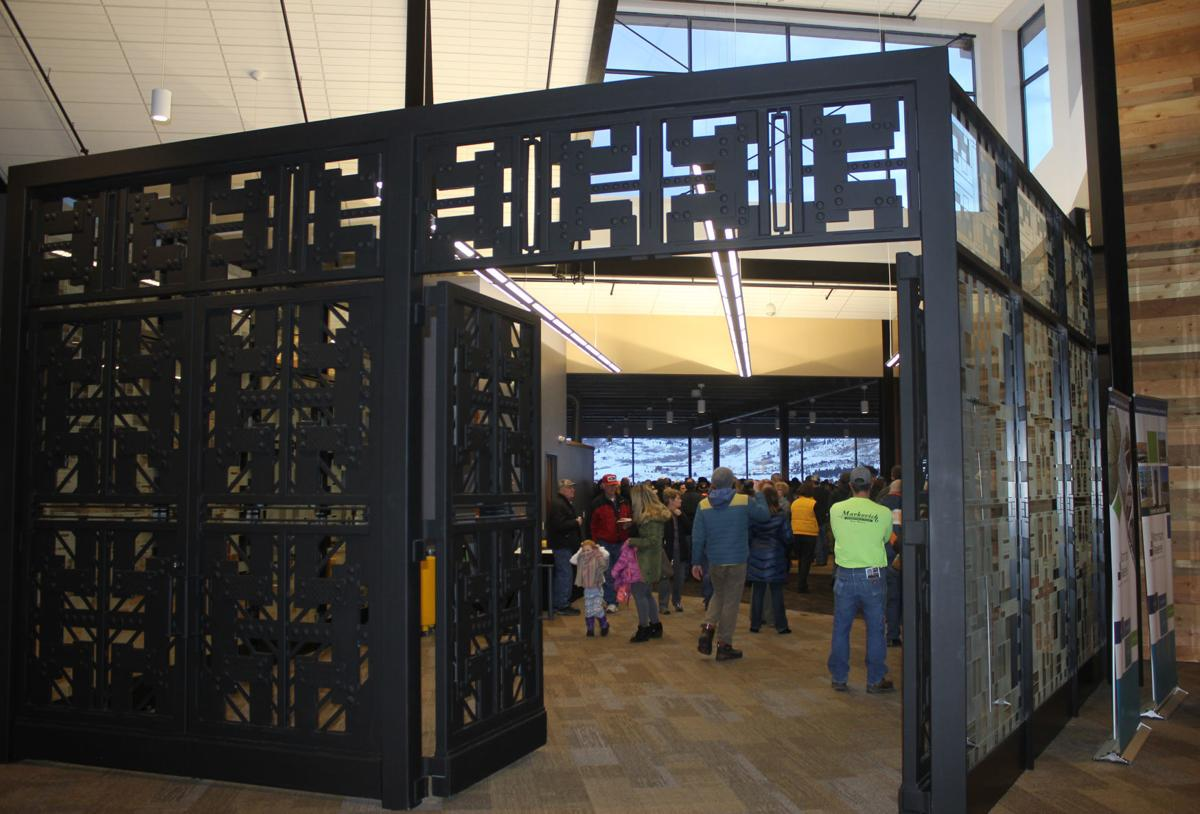 cage entrance