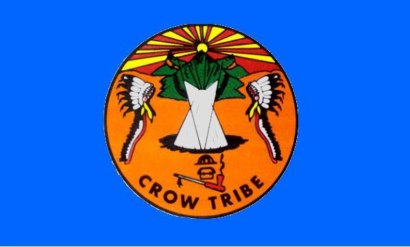 Crow Tribe flag