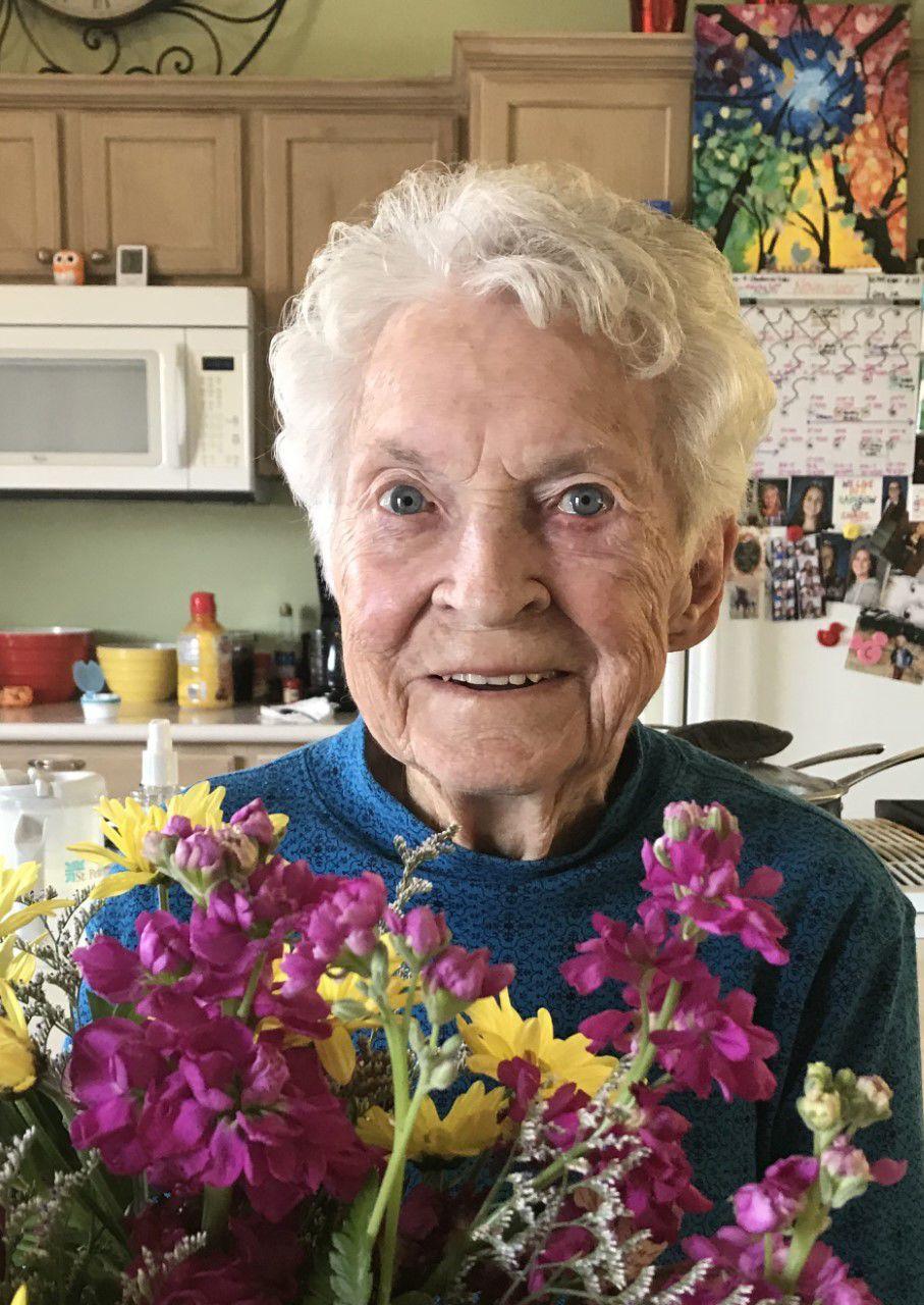 Cora Evelyn Miller, 99