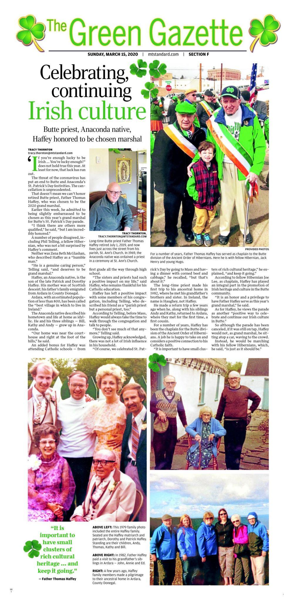 Green Gazette 2020