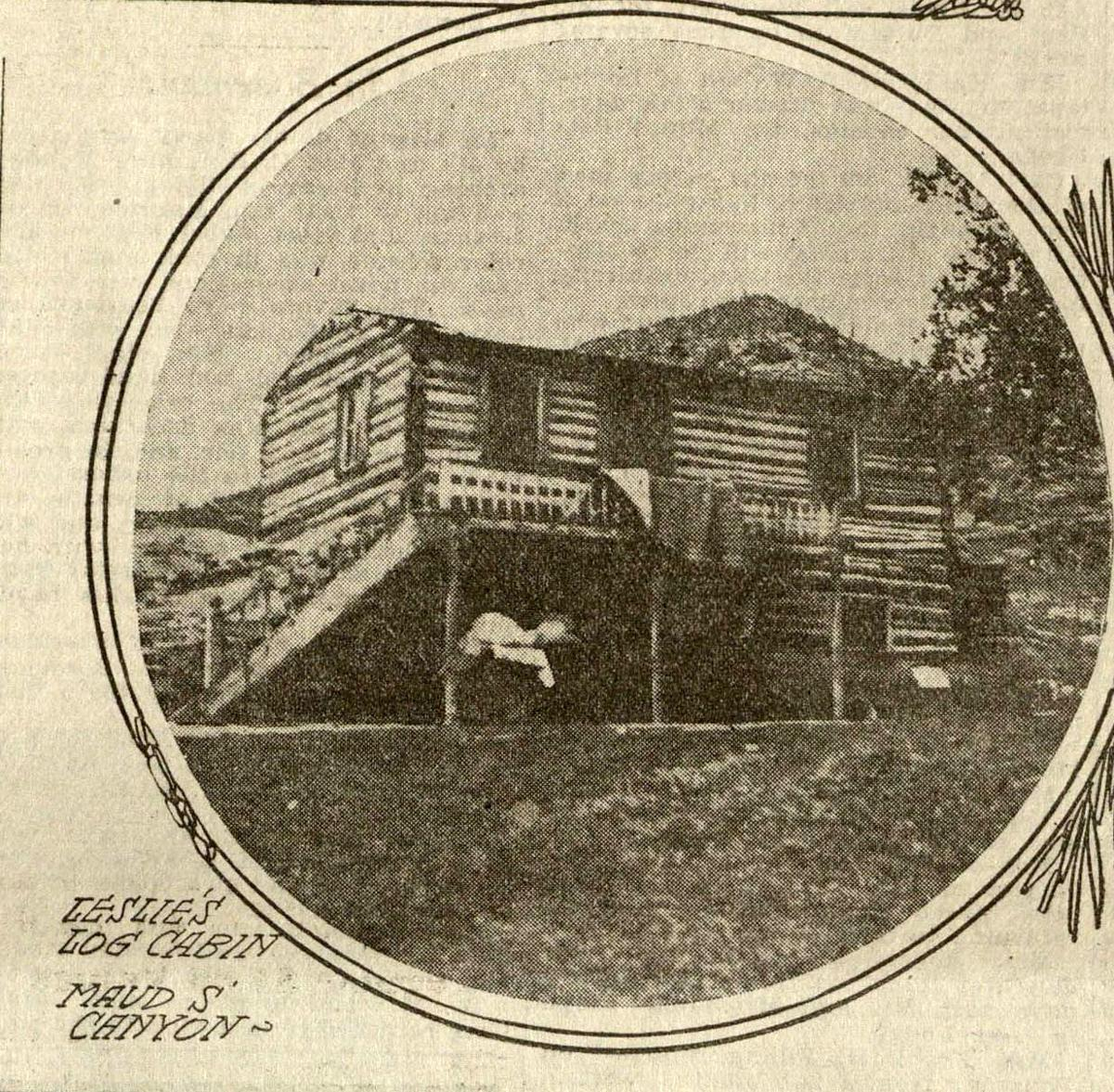 Leslie's cabin, Maud S Canyon