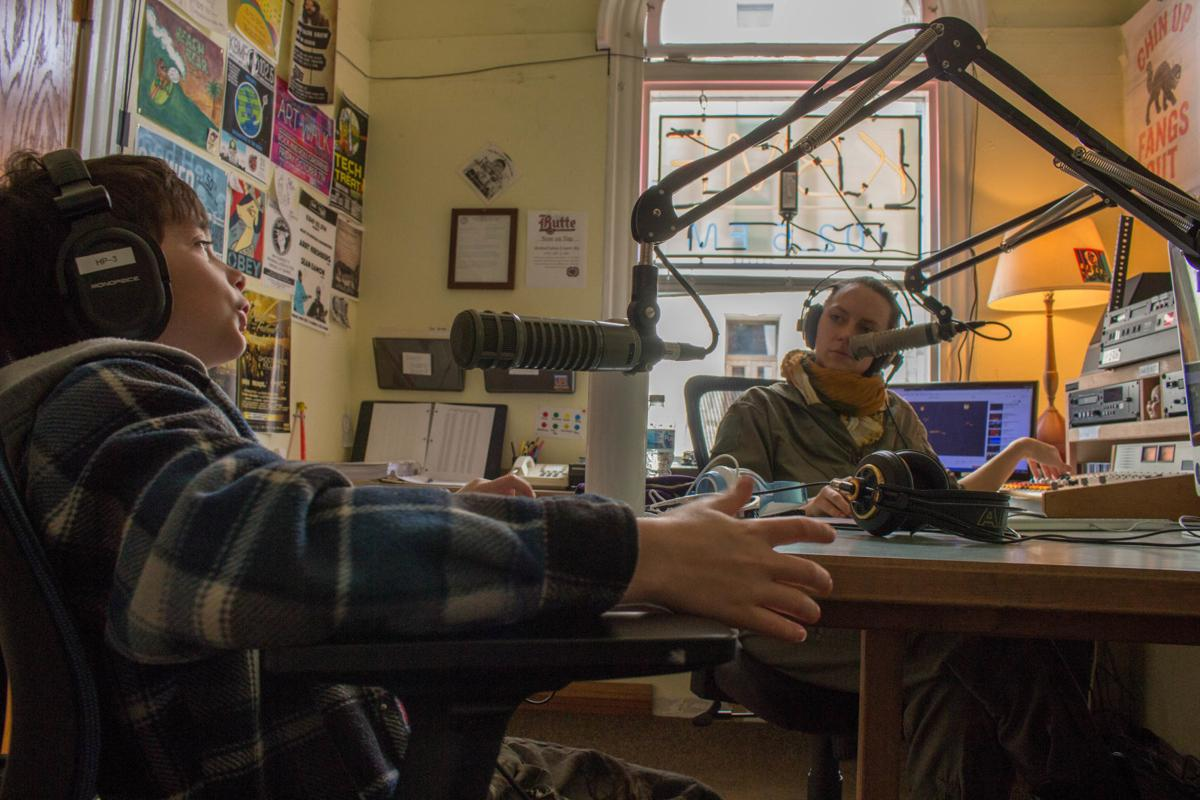 """""""The Jolly Roger,"""" a local radio talk show featuring Butte kids"""