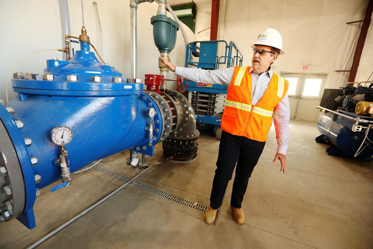 Atlantic Richfield Company shows off polishing plant