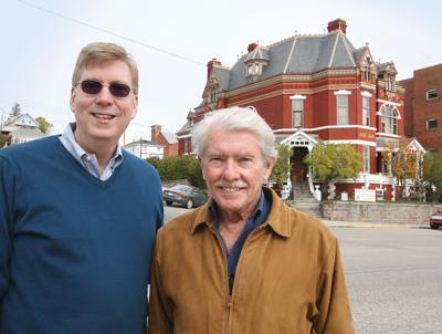 Paul Clark Newell, Jr., with Bill Dedman in 2014