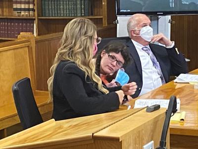 Sandy Moore at sentencing