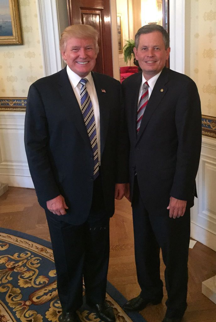 Trump and Daines