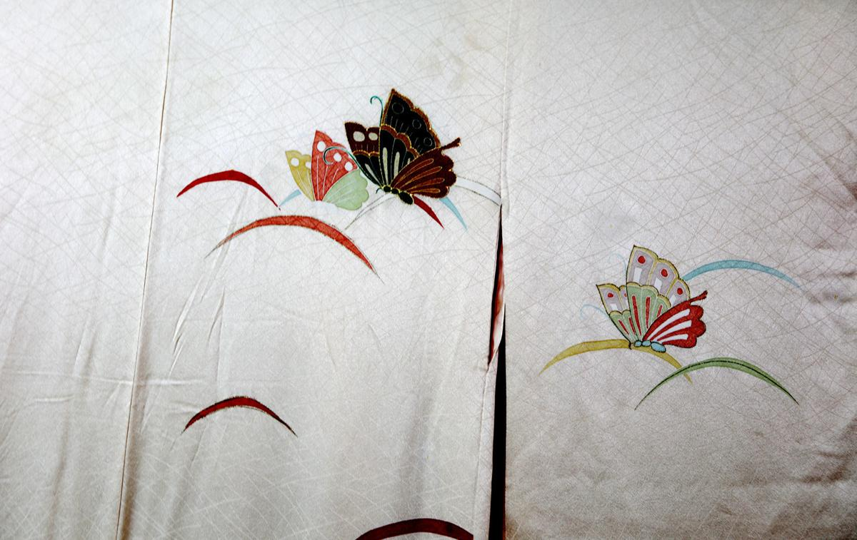Kimonos at the Carle Gallery in Butte
