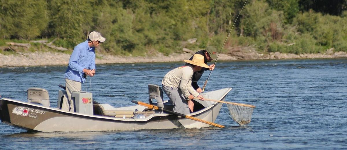 Free fishing days coming to montana washington idaho for Washington dc fishing license