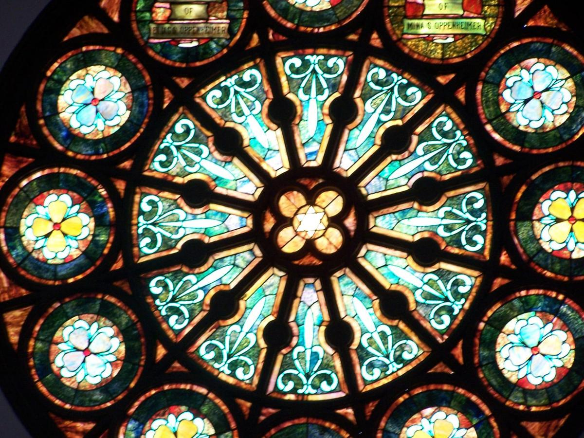 Synagogue glass
