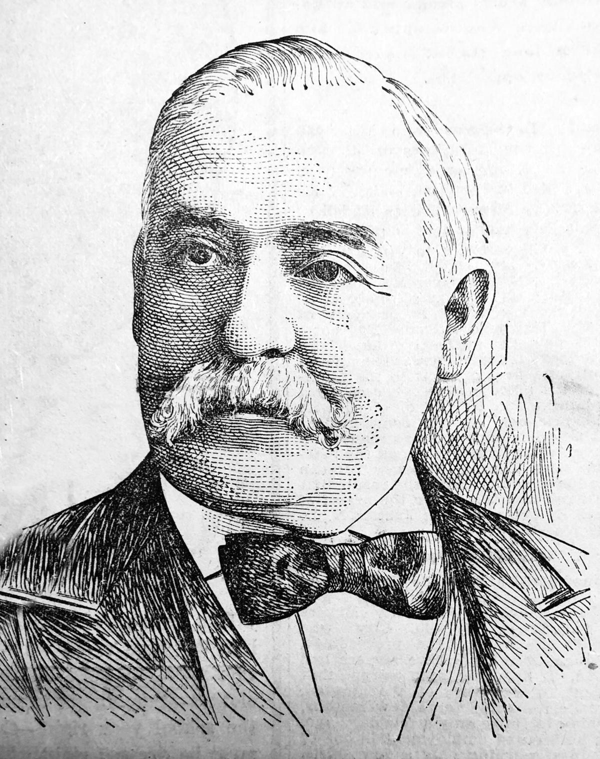Marcus Daly sketch 1907