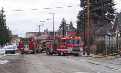 Fire on East 2nd Street
