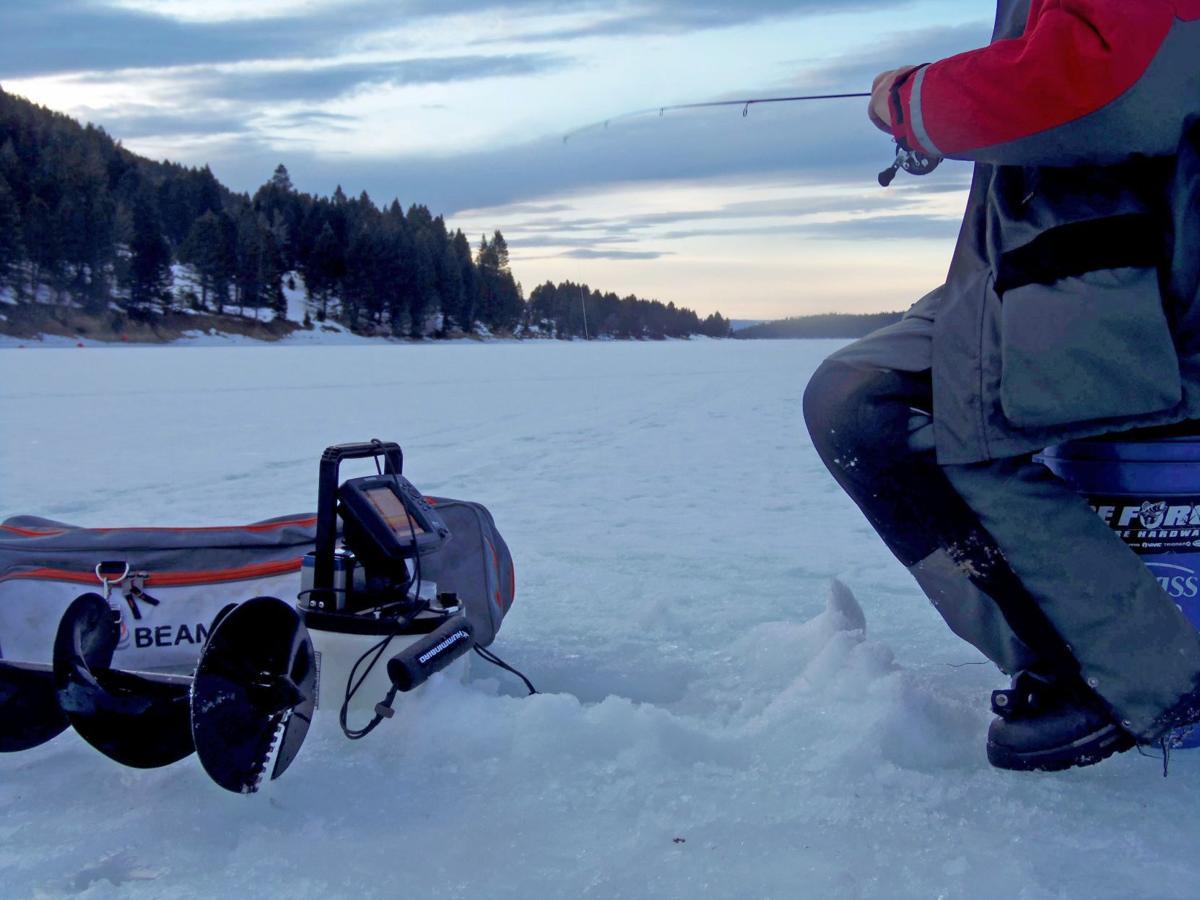 Ice-fishing tournament