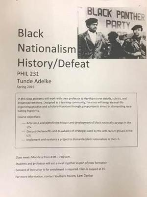 University of Montana prof not surprised by racially charged flyer on studies program board