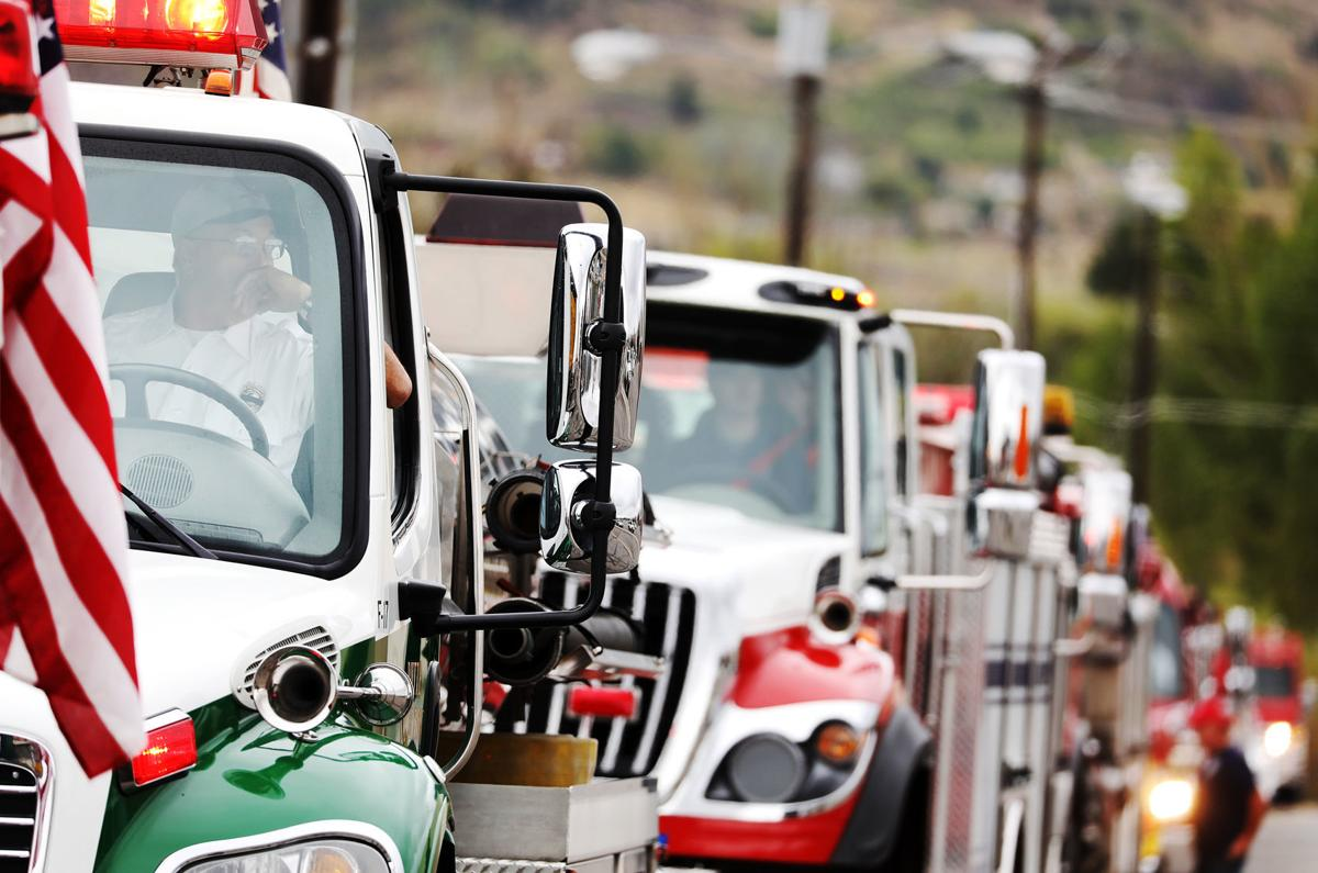 Butte's emergency responders honor 9/11 with silent procession