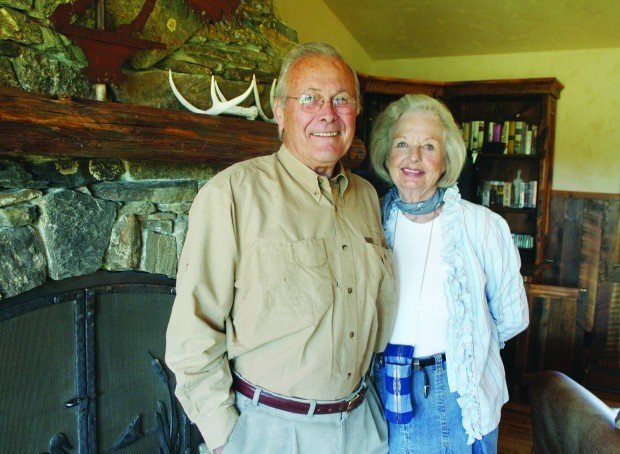 Rumsfeld and his wife Joyce