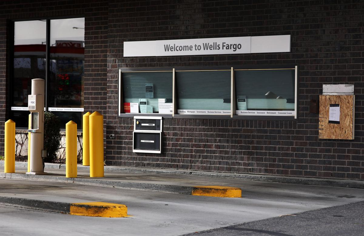 Wells Fargo drive through