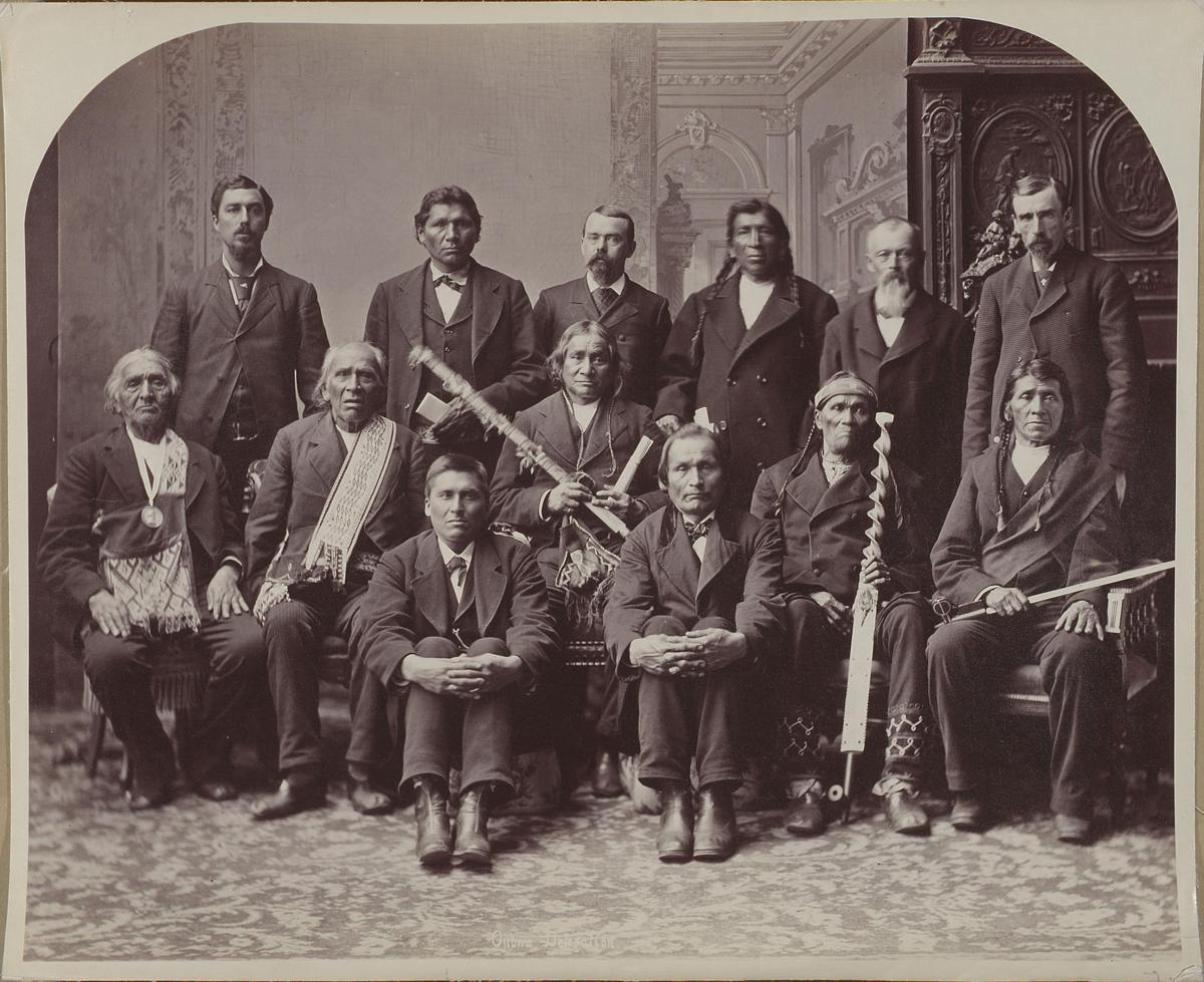Pembina Chippewa Delegation