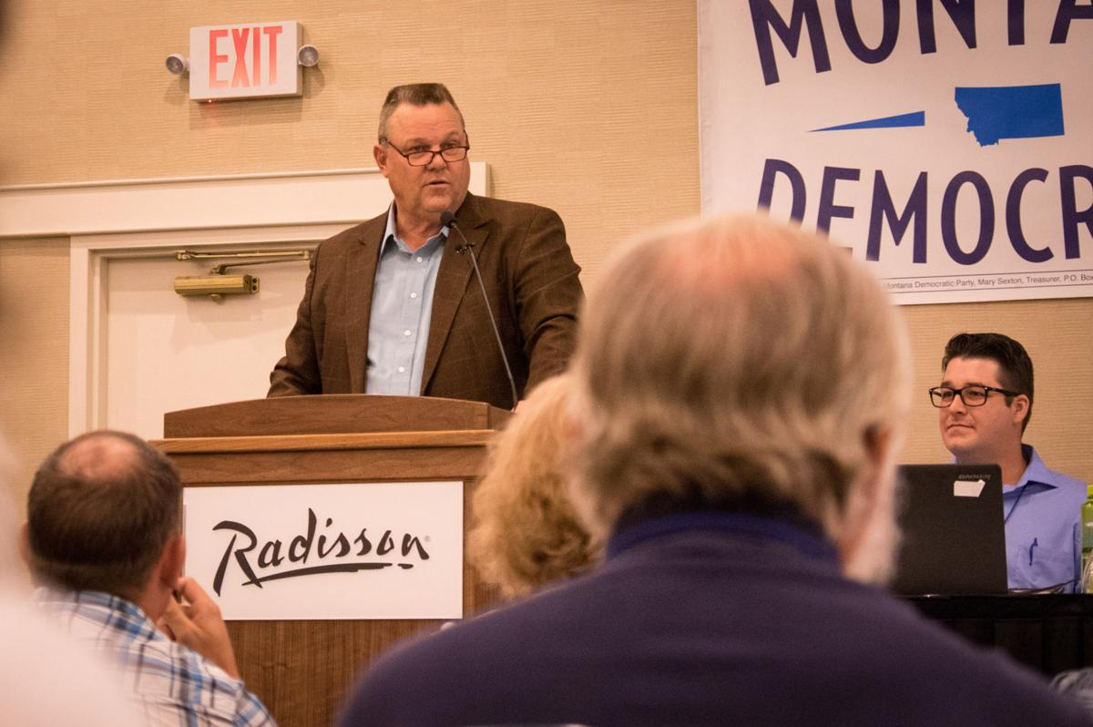 Tester speaks in Helena